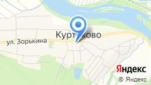 Куртуковская основная общеобразовательная школа им. В.П. Зорькина на карте