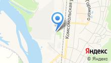 Южно-Кузбасская ГРЭС на карте