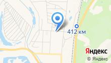 Крюгер на карте