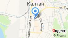 Евдокия на карте