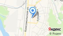 Отдел Управление пенсионного фонда РФ в г. Калтане на карте