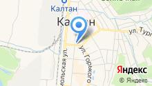 ОВД МВД России по г. Калтан на карте