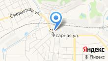 Автопомощь на дороге на карте