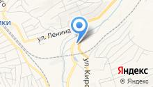 Отдел МВД России по г. Осинники на карте