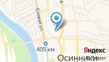 Центр социального обслуживания граждан пожилого возраста и инвалидов Осинниковского городского округа на карте