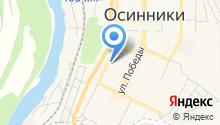 Юридическая палата Сибирского округа на карте