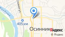 Детская музыкальная школа №20 им. М.А. Матренина на карте