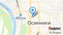 Коллегия адвокатов г. Осинники на карте