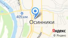 Центральная городская библиотека на карте