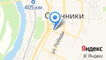 Управление городским хозяйством г. Осинники на карте