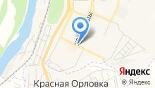 Продуктовый магазин на ул. Победы на карте