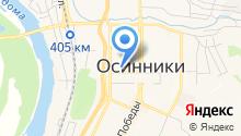 Управление социальной защиты населения Администрации Осинниковского городского округа на карте