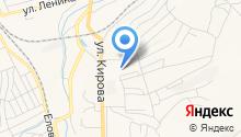 Осинниковский РЭС на карте