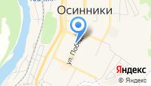 Участковый пункт полиции Осинниковский, Управление МВД России по г. Новокузнецку на карте