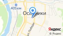 Осинниковский краеведческий музей на карте