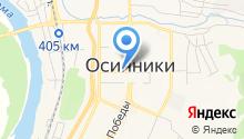 Южно-Кузбасская коллегия адвокатов г. Осинники на карте