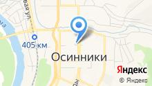 Прокуратура г. Осинники на карте