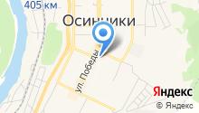 Осинниковский центр телекоммуникаций на карте