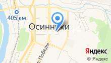 Территориальная избирательная комиссия Осинниковского городского округа на карте