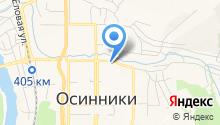 Отдел службы судебных приставов по г. Осинники и г. Калтан на карте
