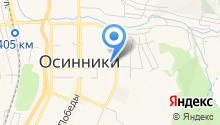 Осинниковский Клуб Вольной Борьбы, АНО на карте
