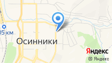 Магазин автотоваров на ул. 50 лет Октября на карте