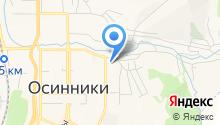 Автомойка на ул. 50 лет Октября на карте
