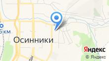 АвтоДом Осинники на карте