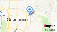 КУЗНЕЦКДЕКРА, НПСТ на карте