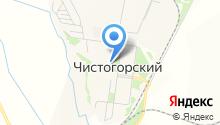 Чистогорская средняя общеобразовательная школа на карте