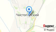 Универсальный магазин на ул. Чистогорский поселок на карте