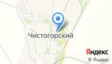 Чистогорская врачебная амбулатория на карте