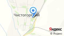 Продуктовый магазин на ул. Чистогорский поселок на карте