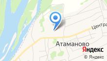 Атамановская средняя общеобразовательная школа на карте