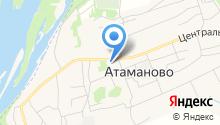 Районная централизованная библиотечная система Новокузнецкого муниципального района, МБУК на карте