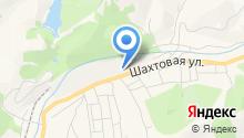 Осинниковская шахта на карте