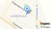 Банкомат, Восточно-Сибирский банк на карте