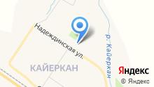 Ледовый дворец спорта района Кайеркан на карте