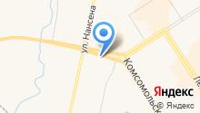 Магазин мебельных тканей на карте