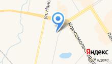 Ахтуба на карте