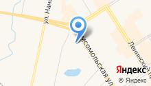 Комплексный центр социального обслуживания населения г. Норильска на карте