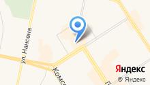 Кировская меховая фабрика на карте