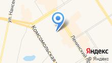 Кабинет ногтевого сервиса на карте