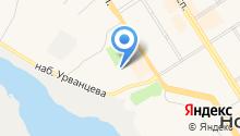 Авторадио-Норильск, FM 106.0 на карте