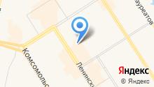 Енисей-Норд на карте