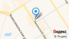 Восточно-Сибирский банк на карте