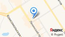 Магазин кожгалантереи и головных уборов на карте