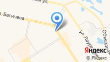 ДизайнПроектСтрой на карте