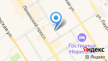CNI-Норильск на карте