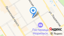 Красноярский краевой центр крови №2 на карте